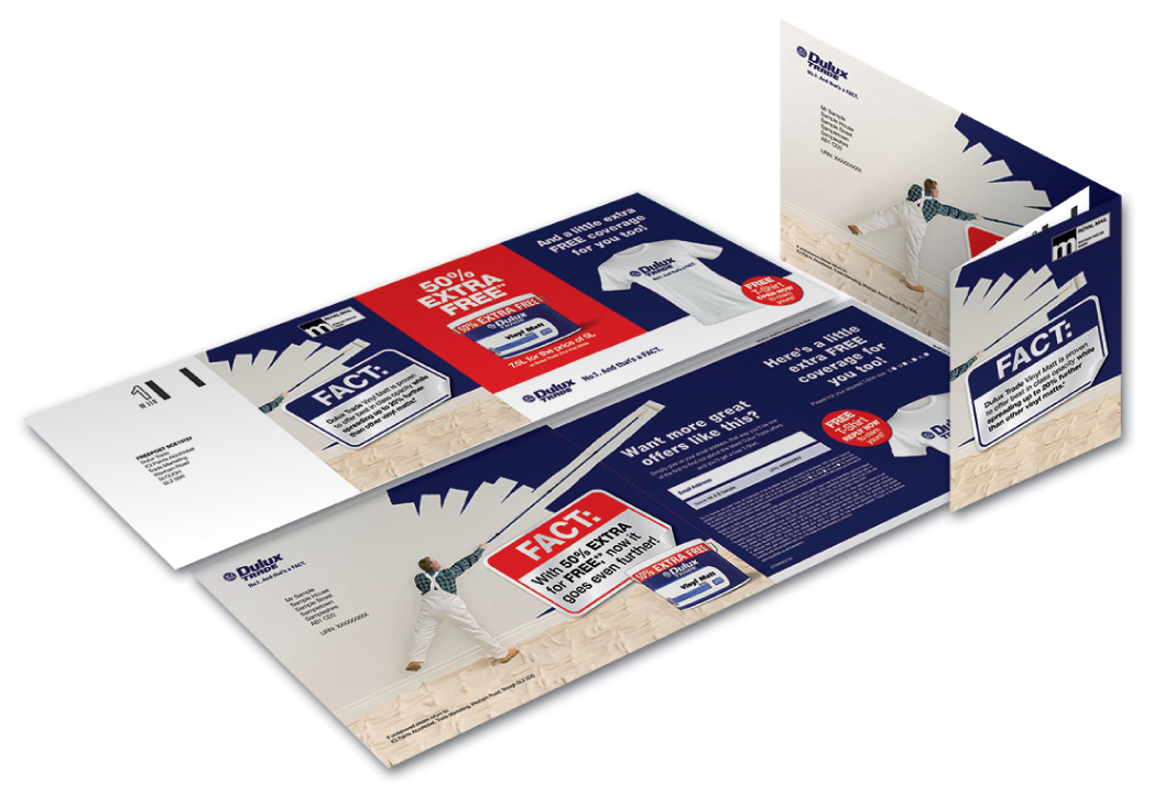 Promotional Direct Mail Pack