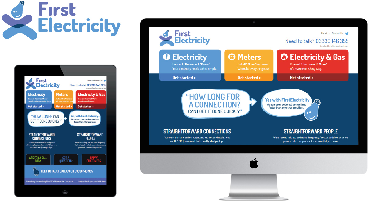 First Electricity Website