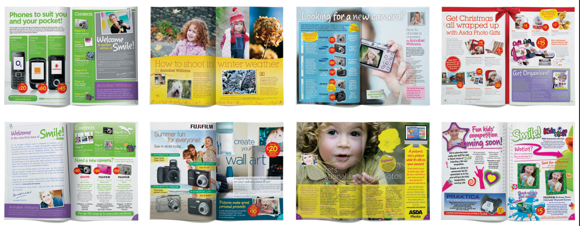 Asda Photo Guide Spreads