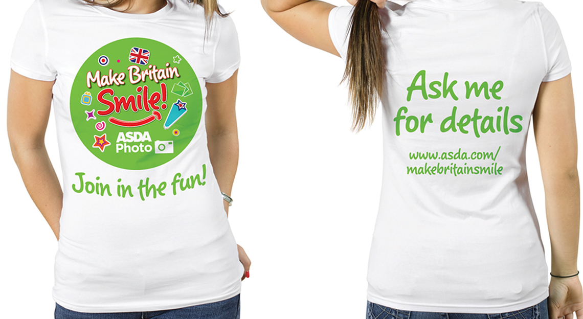 Asda Photo T-Shirts