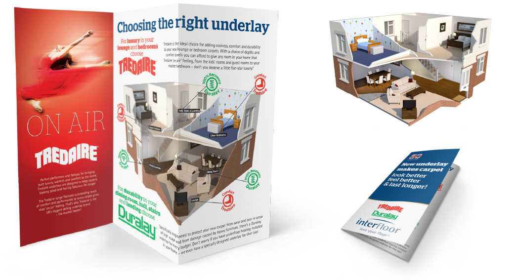 In-store POS leaflet