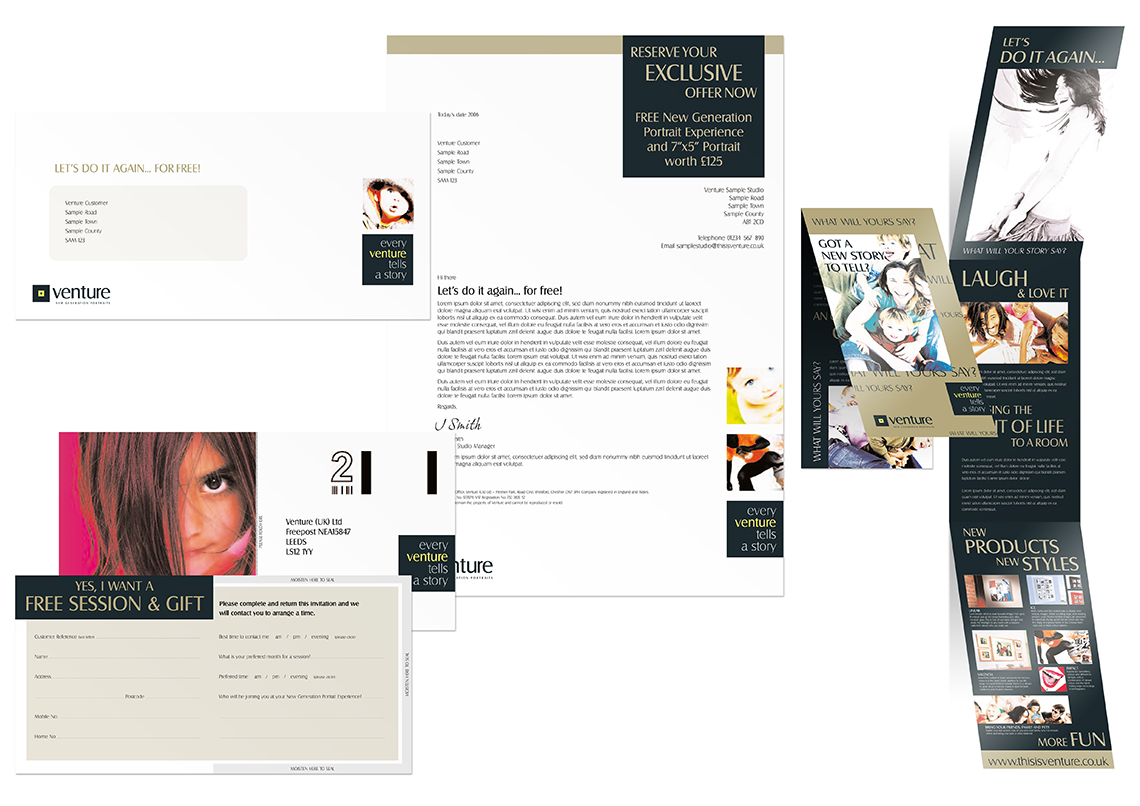 Direct Mail packs
